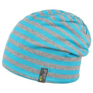 bogota oversize beanie by chillouts one size hellblau