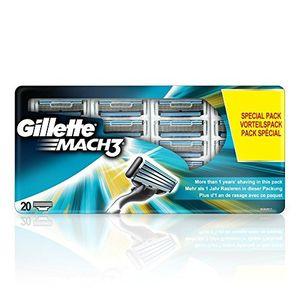 Inicio Gillette MACH3 Cuchillas value pack, 20 unidades ofertas especiales