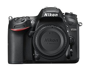 nikon d7200 slr digitalkamera 24 megapixel 8 cm 32 zoll lcd display wi fi nfc full hd video nur kameragehäuse schwarz