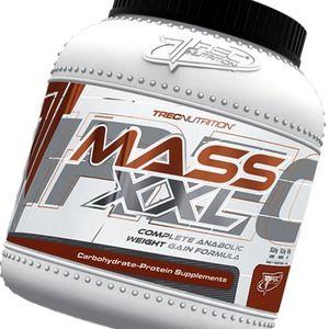 Calientes Misa Builder - MASS XXL 2kg - Completa anabólicos aumento de peso Formula - Rápido aumento de la masa muscular - Carbohidratos y complejo de proteína de suero (19% de proteína) con vitaminas - Trec Nutrition (chocolate) Con Descuento