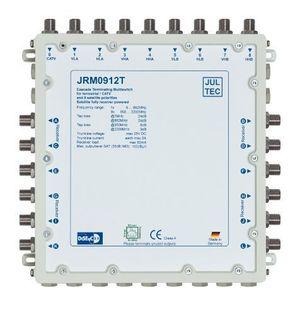 Angebote für -jultec jrm0912t 2 satelliten multischalter 912 für 12 teilnehmer receivergespeist ohne strom stromanschluss druckgussgehäuse neueste generation