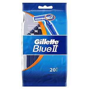 Review for Gillette blue ii - Maquinillas de afeitar desechables (20 unidades), color azul ofertas de hoy