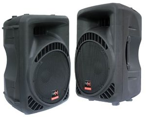deals for - 2x 800w dj pa aktiv lautsprecher boxen set 15 e lektron 15800ma