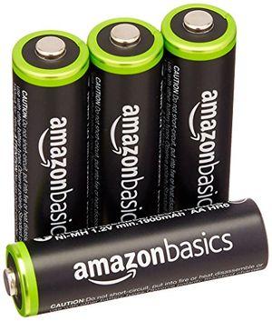 Review for amazonbasics vorgeladene ni mh aa akkus akkubatterien 1000 zyklen typisch 2000mah minimal 1900mah 4 stck äußere hülle kann von darstellung abweichen