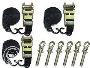 Buy toolport sturmsicherung lagerzelt partyzelt 20 m mit betonankern zusätzliche sicherheit stabilität für ihr lagerzelt lagerhalle partyzelt windschutz neu