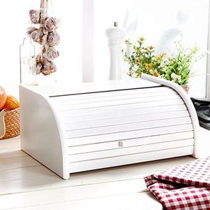 photos of Brot Box Aus Holz, Aufrollbar Oder Herunterklappbar, Verschiedene Versionen Erhältlich, Holz, Weiß, Large Sonderangebote Kaufen   model Lawn & Patio