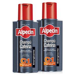 Reseña Alpecin Champú Cafeína C1, Champú anticaída - 2 x 250ml = 500ml comparación