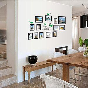 deals for - hongrun kreatives hauptwohnzimmerdekorations fotowand posternordischeraufbauender szenischer wandaufkleber 66 118cm