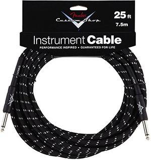 deals for - fender 099 0820 039 custom shop 75m inst cable black tweed