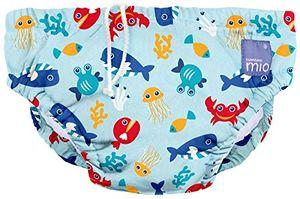ofertas para - bambino mio swpm dsb pañal bañador deep sea blue mediano 6 12 meses