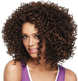 Top LuoLeiNa pelucas para mujer degradado rubio, parte lateral, rejilla sintética, pelo corto rizado, aptas para calor comparación