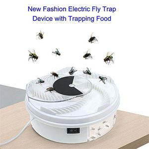 asosmos automatisches elektrisches fliegenfänger fliegenfallen fliege fanggerät mit köder nahrungsmittel und usb kabel insektenabwehr insektenfalle mücke moskito wanzen für zuhause küche restaurant 3 stüke