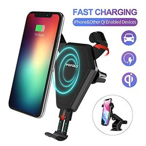 wofalo schnelles wireless charger auto drahtlos ladegerätqi drahtlos schnellladestation für iphone 88 plusiphone x samsung galaxy s9s9 plusnote8s8s8pluss7s7edges6edge plusnote5 alles qi