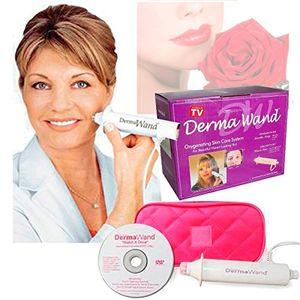 Takestop® Derma Wand herramienta de rejuvenecimiento de rostro, tratamiento antiarrugas, piel joven, con bolsa ofertas especiales