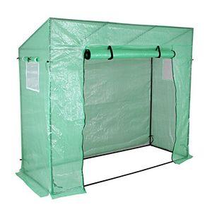 Angebote für -yorbay foliengewächshaus gewächshaus 200x80x170150cm mit gitternetzfolie aus pe 140g㎡ mit fernster für garten zur aufzucht