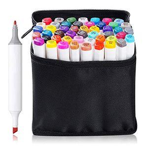 deals for - touchnew marker set mit doppelspitze auf alkoholbasis zum zeichnen malen skizzieren
