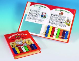 photos of Metallophonbuch Mit 8 Toenen Best Buy Kaufen   model Musical Instruments