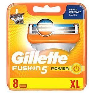 Barato Gillette Fusion Cuchillas de afeitar, 8unidades, 1er Pack (1x 8unidades) Mejor oferta