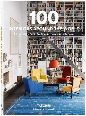 100 interiors around the world bibliotheca universalis