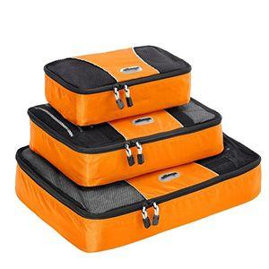 Angebote für -ebags packing cubes packtaschen 3 teiliges packwürfel set gemischt mandarine