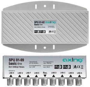 photos of Axing SPU 81 02 DiSEqC 2.0 Umschalter 8 X Twin LNB In 2 Für Außenmontage Vergleich Kaufen   model Home Theater