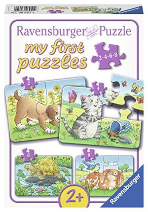 Cheap ravensburger 06951 niedliche haustiere my first puzzles 2468 teile