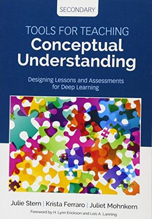 deals for - tools for teaching conceptual understanding secondary designing lessons and assessments for deep learning concept based curriculum and instruction
