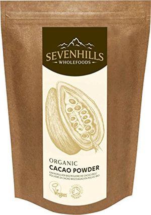 Reseña Sevenhills Wholefoods Cacao En Polvo Orgánico 1kg comparación