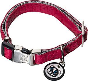 deals for - karl lagerfeld haustiere hunde halsband aus weichem leder verstellbar farbe rot größe 10