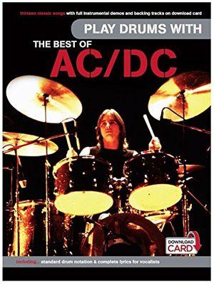 Hot play drums with the best of acdc schlagzeugnoten musiknoten
