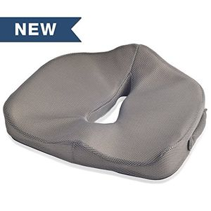 ofertas para - dr fredericks original breathetec cojín viscolástico de posparto perineal y próstata para hombres y mujeres gris