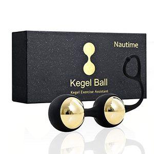 ofertas para - nautime bolas chinas suelo pelvico mujer de metal silicona kegel ejercitador vibrador masajeador de la salud color dorado