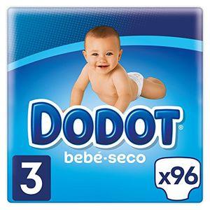 Top Dodot Pañales con Canales de Aire Bebé-Seco, Talla 3, para Bebes de 6-10 kg - 96 Pañales Hot oferta