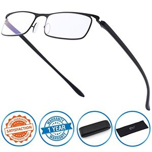 ofertas para - cgid lentes de lectura anti luz azul con marco tr90 para hombres y mujeres qkx001
