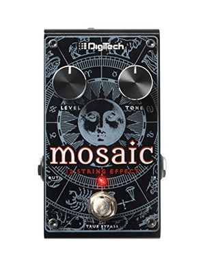 Review for digitech mosaic polyfoon 12 string effect pedal