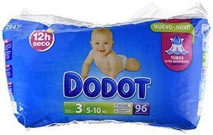 ofertas para - dodot pañales bebés talla 3 5 10 kg 96 unidades