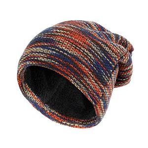 Angebote für -sandalup multicolor wintermütze mütze mit weichem korallen samt futter mütze für damen und herrenrot