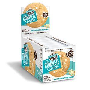 ofertas para - pack de 12 galletas the complete cookie de chocolate blanco y nueces de macadamia de lenny larrys