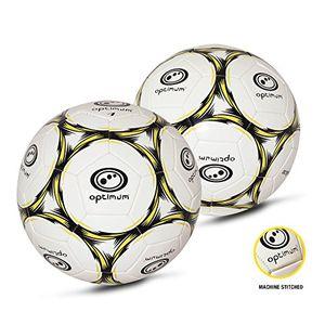 Buy optimum classico herren fußball weiß blackfluro größe 5