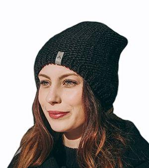 Buy wintermütze beanie mit fleecefutter schwarz für damen und herren