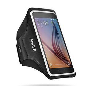 Angebote für -anker universal sport armband für handys tragehülle für smartphones mit 47 52 zoll bildschirm inklusive iphone 7 6 6s samsung s6 s6 edge samsung s7 und weitere mit schlüssel karten und kopfhörer kabel fächern