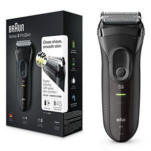 ofertas para - braun 3020s series 3 proskin afeitadora eléctrica de lámina color negro