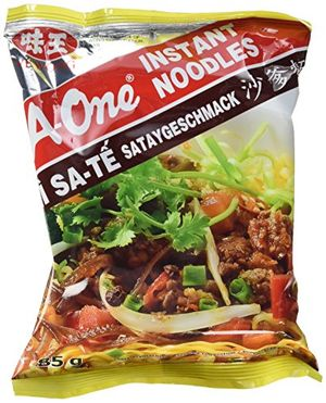 a one instantnudeln satay bbq 30er pack 30 x 85 g packung