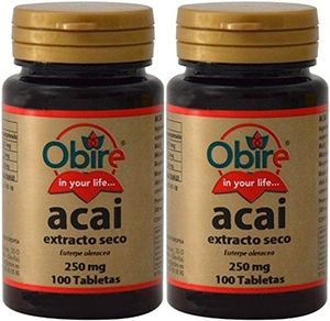 ofertas para - acai 250mg 100 tabletas pack de 2