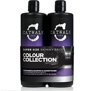 Inicio Fashionista by TIGI Catwalk Tween Set - Safe for Colour Shampoo 750ml & Safe Colour Conditioner 750ml Guía