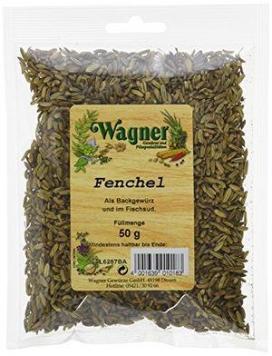 Review for wagner gewürze fenchel 4er pack 4 x 50 g