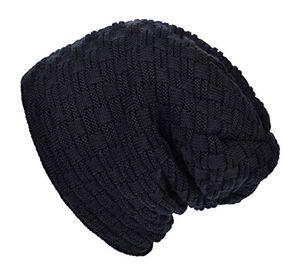 Top lilbetter warm gefütterte beanie wintermütze sportlich elegantes flechtmuster mit weichem fleece futter mütze schwarz