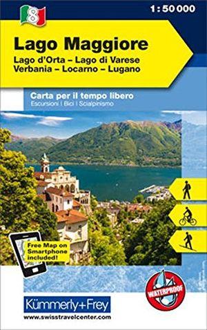 Angebote für -italien outdoorkarte 08 lago maggiore 1 50000 lago di varese locarno lugano wanderwege radwanderwege nordic walking skilanglauf skitouren kümmerlyfrey outdoorkarten italien