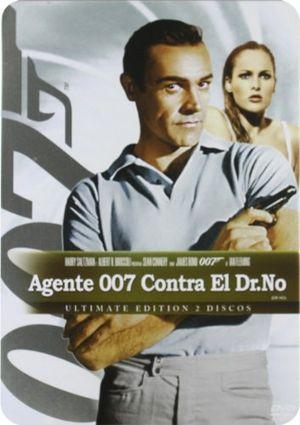 agente 007 contra el dr no estuche metálico