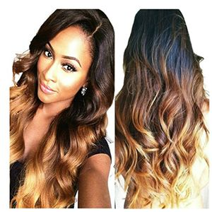 ofertas para - obzer usa® alta calidad extensiones de pelo peinados pelucas pelo salon peluca sintética de pelo extensiones de cabello pelo ondulado
